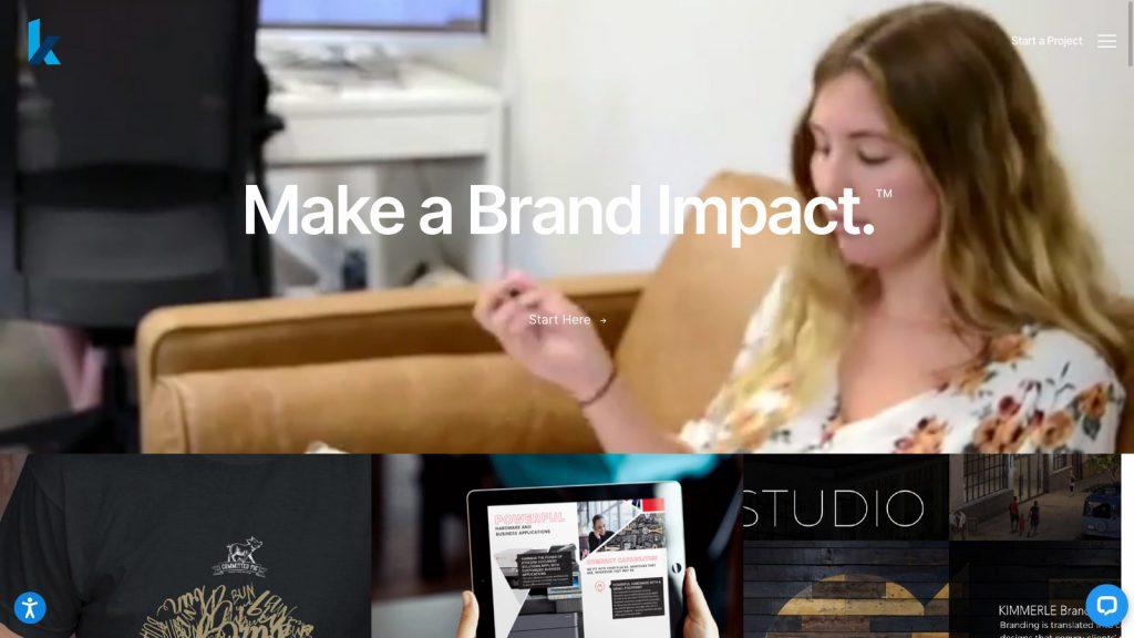 Kraus Group Marketing homepage