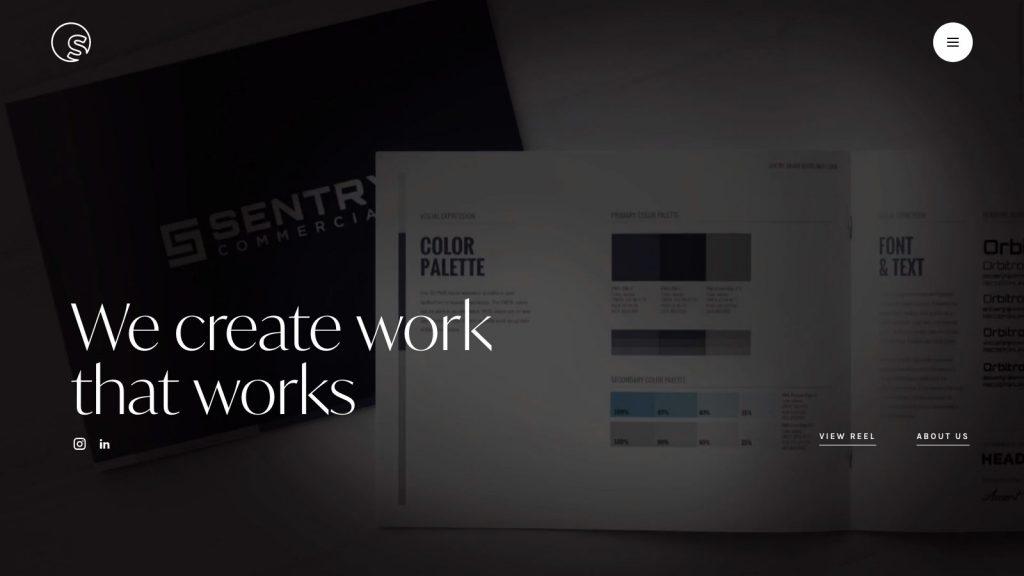 Splendor Design homepage