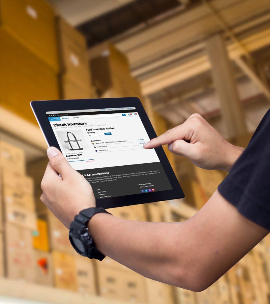 AAA Innovations Website iPad Warehouse