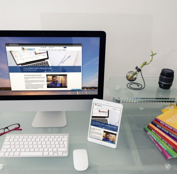 REdirect Consulting's Website on desktop and tablet