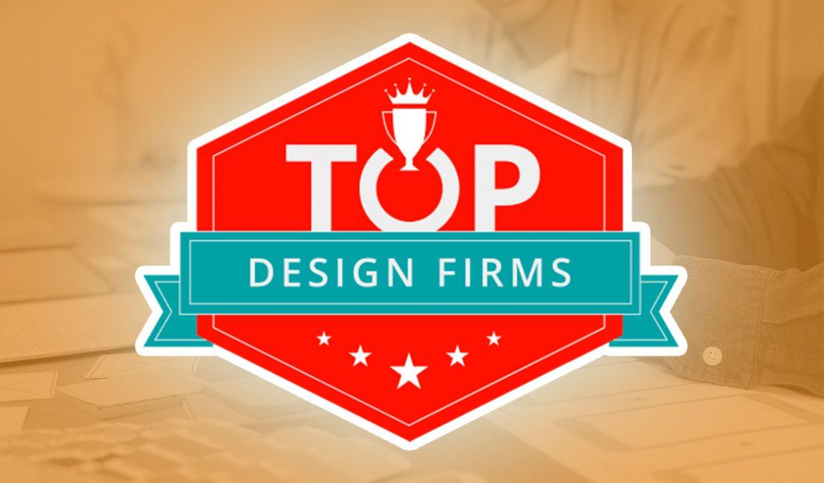 Logo for the Clutch Top Design Firms Website