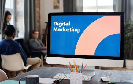 meeting about digital marketing