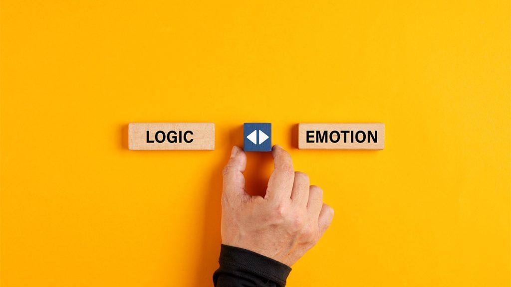 logic vs emotion comparison