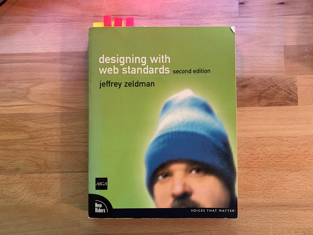 A book on designing with web standards
