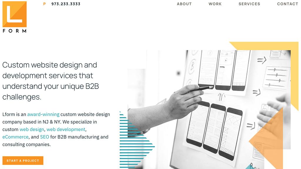 Lform homepage