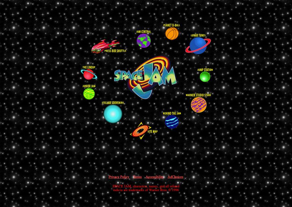 Space Jam solar system